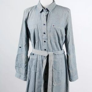 Tommy Hilfiger Cotton Shirt Dress